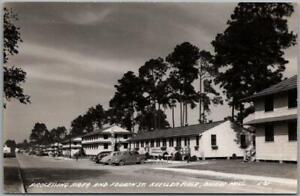 "1940s BILOXI, Mississippi RPPC Photo Postcard ""Processing Area, KEESLER FIELD"""