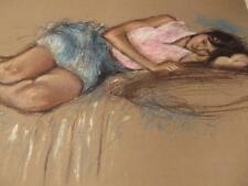 """"""" Repose""""by Pecard Hand-signed & numbered on paper"""