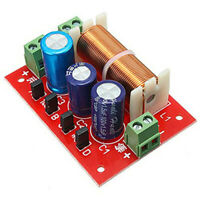 400W Lautsprecher Frequenz Weiche 2 Wege Hoch Niedrig 4-16 Ohm Frequenz Tei O6Y1
