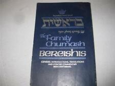 Family Bible Hebrew English Jewish Artscroll Genesis Bereshis