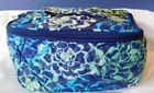 Vera Bradley Travel Cosmetic Case Factory Katalina Blues 15016-295