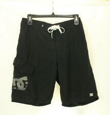 DC Men's Swim Trunk Board Short Black Size 28 Retail $40