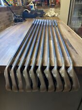 New listing LH Ping Zing Beryllium Copper BLACK DOT iron set 3-PW,SW,LW Karsten 101 Graphite