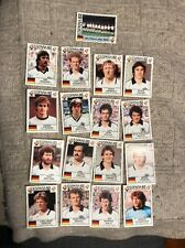 Panini World Cup Espana 1982 - West Germany Set 17 Stickers, World Cup Story