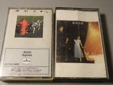 Rush 2 Cassette Lot Signals / Exit Stage Left