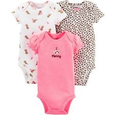 Child of Mine by Carter's Baby Girl Bodysuits 3 pack
