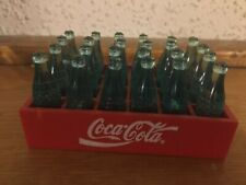"Red Mini Coca Cola case of bottles 3 1/2"" x 2"""