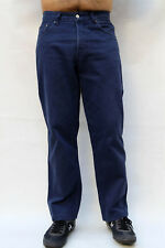 Levis 440 VINTAGE 80 S Jeans Blu Medio Pantaloni Pantaloni Gamba Dritta W33 L29