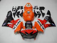 CN Orange Fairing Bodywork Injection Kit For Honda CBR600RR F5 2013-2017 2014 15