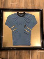 Star Trek Leonard Nimoy Hand Signed Jersey- Professionaly Framed- JSA COA