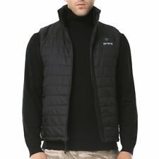 ORORO Mens Heated Warm Vest With Battery Sleeveless Winter Outdoor Coat-XL