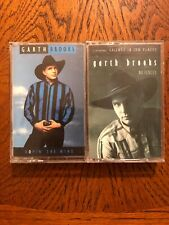 Garth Brookes No Fences & Ropin' The Wind Cassette Tapes