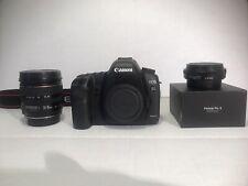 Canon EOS 5D Mark II Digital SLR Camera Body + 2 Lenses - 21,900 SHUTTER COUNT