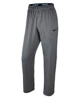 NWT Men's NIKE Dri-Fit Therma Training Pants Sweatpants Gray w/black swoosh 4XL