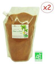 Sucre Fleur de Coco Biologique 1,6Kg (2x800gr) - non raffiné, cuisine, bio