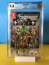 Champions #1 1st new Champions 2nd Print CGC 9.8 Ms. Marvel, Miles,Marvel 2016
