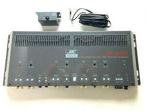 Car Audio Sound Quality 60 BAND Equalizer Signal Processor X-over & gain control