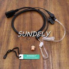 Sundely Covert Acoustic Tube Headset/earpiece Mic Cobra MT 600 Mt750 Mt800