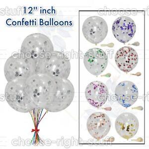 Coriandoli Palloncini 30.5cm Confezione Di 10, 20 Decorazioni Nozze Birthday Da