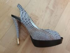 "Exclusive Designer High Heels Peeptoe ""Baldan"", Gr. 39"