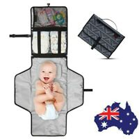 Newborns Foldable Waterproof Baby Diaper Changing Mat Portable Changing Pad CA