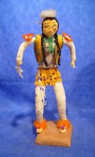"Sioux Grass Dancer Doll 11 3/4"" + 3/4"" stand"