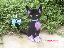"17.7"" The Legend of Heroes:Sen No Kiseki Plush Black Cat Celine Cosplay Doll"
