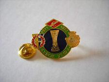 b VITORIA SETUBAL SPARTAK MOSCOW KOSICE cup uefa europa league 1972 football pin