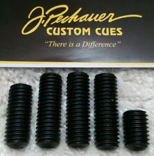 5) J.Pechauer Cue Weight Bolts IN STOCK READY 2 SHIP Pechauer Pool Cue Accessory