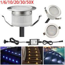 Lampe au Sol Spot Encastrable LED Lumière éclairage Spot exterieur Maison Jardin