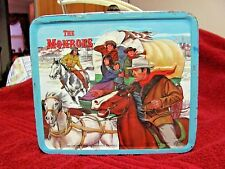 The Monroes Metal Lunch Box By Aladdin (1967) RARE /NO THERMOS, Condition/VG