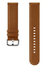 Original SAMSUNG Leather Band 20mm -Brown- For Galaxy Watch models