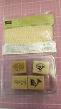 Stampin Up Baker's Twine Crushed Curry and stamps crafting, cardmaking retired