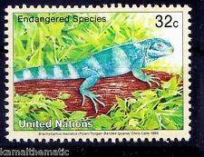 United Nations 1995 MNH, Banded Iguana, Reptiles, Wild Animals -A10