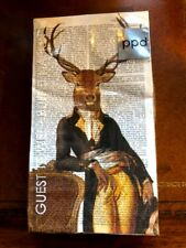 PPD Fab Funky Lord Winston Buffet Guest Napkins Deer Stag 3 ply Made in Germany