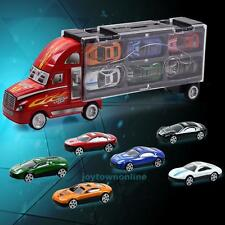 12pcs/set Cars Toy Alloy Diecast Mini Pull Back 37 * 7.5 * 14.5CM Kids Gifts