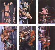 WWE Complete 6 Card Insert Set: STONE COLD'S GREATEST HITZ OMNICHROME wwf 1998