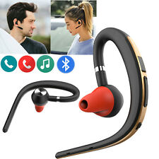 Bluetooth Headset Wireless Earpiece With HD Mic for Cell Phones Driving Business