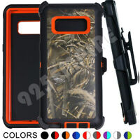 For Samsung Galaxy Note 8 Rugged Armor Shockproof Case Cover with Clip