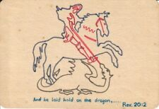 Free Hand Drawing, Image of Saint George and Dragon