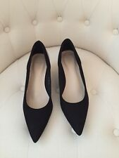 LADIES BLACK FORMAL EVENING SHOES SIZE 6 1/2