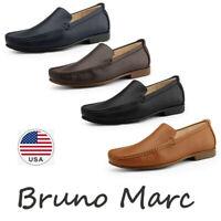 Bruno Marc Men's Lightweight Slip On Loafer Shoes Penny Casual Dress Shoes