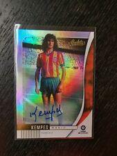 Panini Chronicles 2019-2020 Absolute Soccer Autograph Valencia MARIO KEMPES
