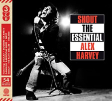 THE SENSATIONAL ALEX HARVEY BAND SHOUT THE ESSENTIAL 3 CD SET - New Release 2018