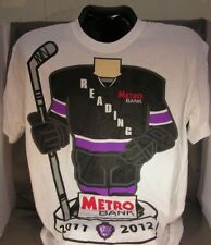 Reading Royals T-Shirt 2011-2012 season Metro Bank Hockey ECHL !