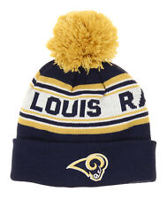 OuterStuff NFL Little Boys Los Angeles Rams Jacquard Cuffed Knit Hat OSFM