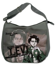 *NEW* Attack on Titan: Levi Drinking Messenger / Zippered Hobo Bag by GE