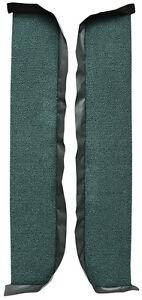 1964-1967 Pontiac LeMans Loop Carpet Door Panel 8 Inch Inserts 2pc