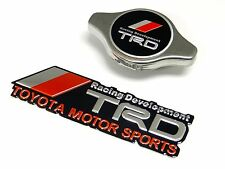 STAINLESS STEEL 1.3KG RADIATOR CAP + FREE ALUMINUM EMBLEM FOR TOYOTA SCION