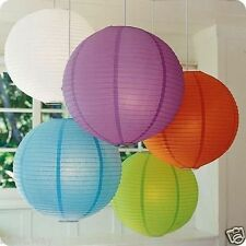 7 PCs Pack Marriage Party Hanging Paper Lantern Christmas Decoration Light Lamp